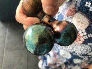 foto van eiwit-zilverballen